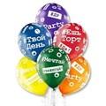 Латексный воздушный шар 35 см #Твой день рождения - фото 5822