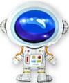 """Воздушный шар """"Космонавт"""" - фото 5980"""
