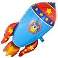 """Воздушный шар """"Космическая ракета"""" - фото 5986"""
