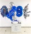 """Воздушные шары в коробке """"Холодное Сердце"""" - фото 6117"""
