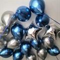 """Воздушные шары под потолок """"хром микс"""" - фото 6415"""
