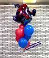 """Фонтан из воздушных шаров """"Человек паук"""" - фото 6841"""