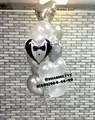 Фонтан из воздушных шаров «Свадьба» - фото 6843