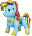 Ходячая фигура радужный пони (Голубой)  в упаковке - фото 7032