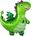 """Воздушный шар фигура """"Дракон"""", зелёный - фото 7193"""