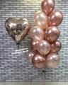 Сет из воздушный шаров  « Розовое золото» - фото 7206