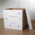 "Пустая коробка для шаров ""Любимой маме"" - фото 7257"