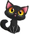 """Воздушный шарик фигура """"Котёнок"""" - фото 7347"""