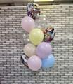 Фонтан из воздушных шаров «Аниме» с днём рождения - фото 7526