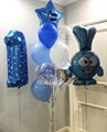 Композиция из воздушный шаров  «Крош» - фото 7590