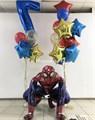 Композиции воздушных шаров «Человек паук» - фото 7675
